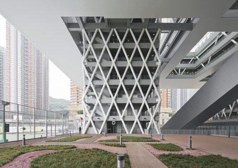 dezeen Hong Kong Design Institute by Codelfy Architects 13 موسسه طراحی هنگ کنگ