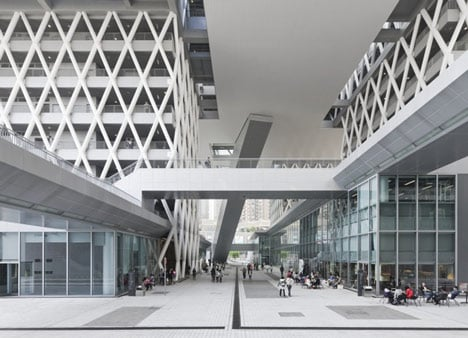 dezeen Hong Kong Design Institute by Codelfy Architects 16 موسسه طراحی هنگ کنگ