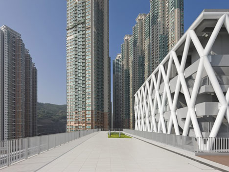 dezeen Hong Kong Design Institute by Codelfy Architects 24 موسسه طراحی هنگ کنگ