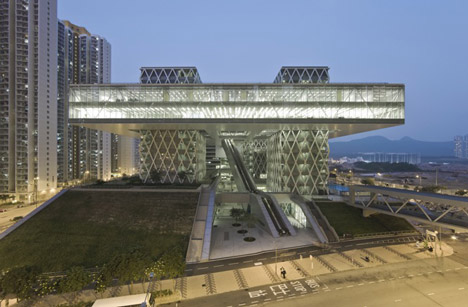 dezeen Hong Kong Design Institute by Codelfy Architects 40 موسسه طراحی هنگ کنگ
