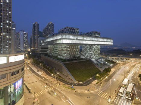 Hong Kong Design Institute by CAAU
