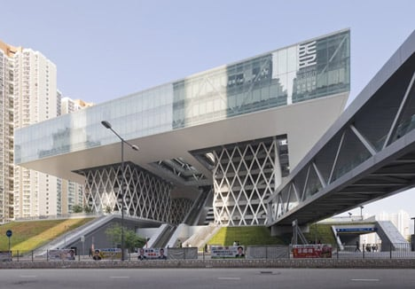 dezeen Hong Kong Design Institute by Codelfy Architects 5 موسسه طراحی هنگ کنگ