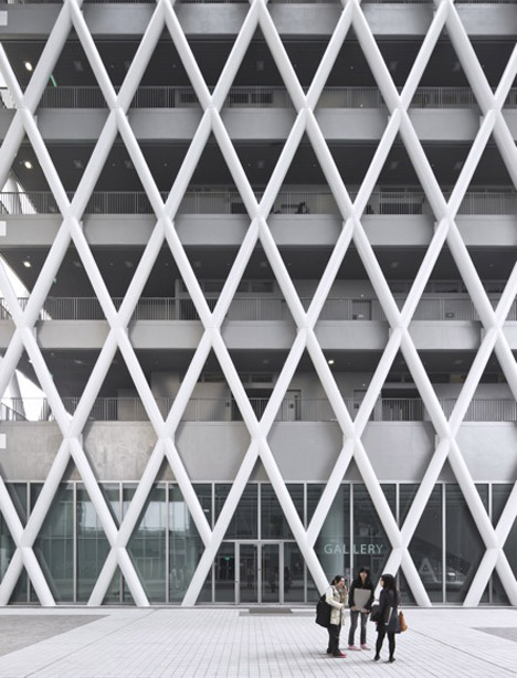 dezeen Hong Kong Design Institute by Codelfy Architects 9 موسسه طراحی هنگ کنگ