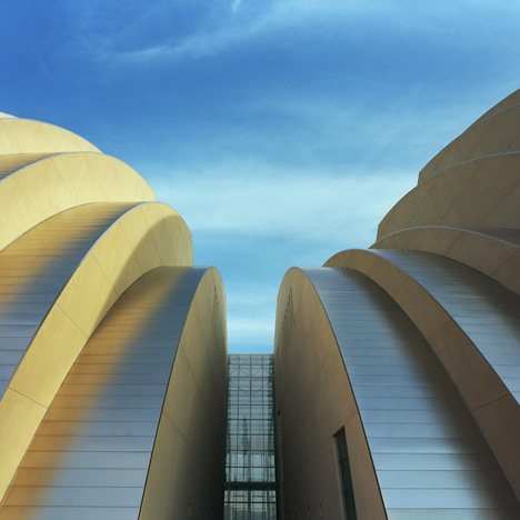 Kauffman Center by Safdie Architects