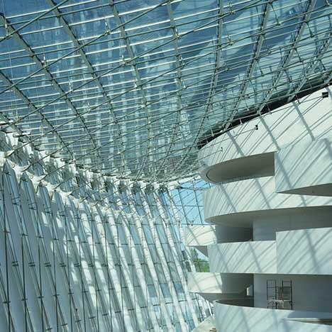 Kauffman Center by Safdie Architects