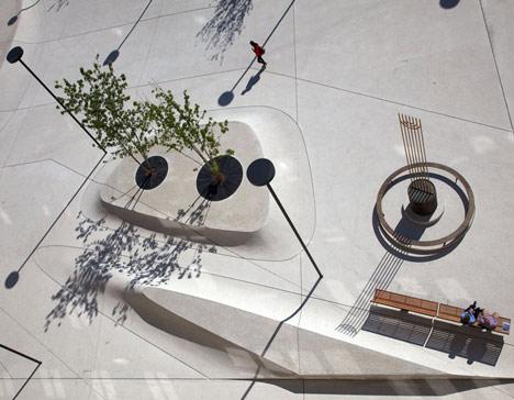 Landhausplatz by LAAC Architekten