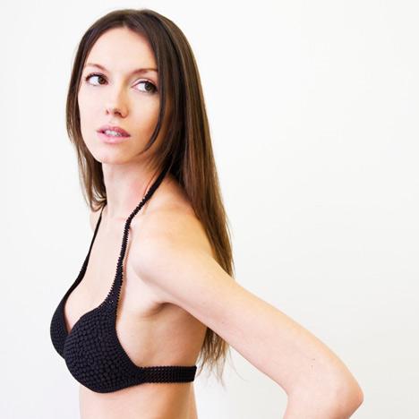 N12 3D-printed bikini by Continuum Fashion and Shapeways
