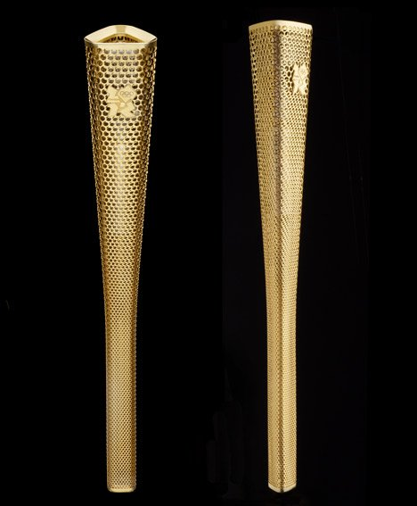 London 2012 Olympic Torch by BarberOsgerby