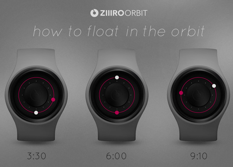 Orbit by Ziiiro at Dezeen Watch Store