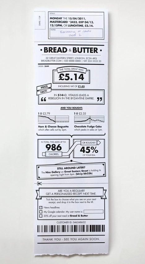 Receipt redesign by BERG – Receipt Design