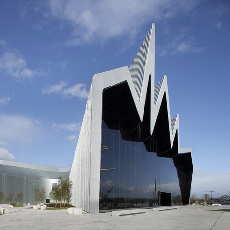 Riverside Museum By Zaha Hadid Architects Dezeen