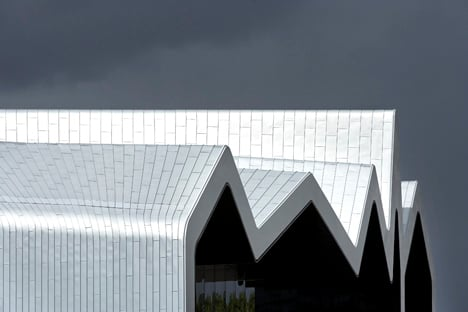 Riverside Museum by Zaha Hadid Architects