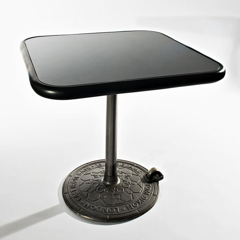 Rolling table by Tom Dixon