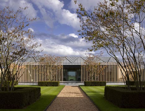 Rothschild Foundation by Stephen Marshall Architects