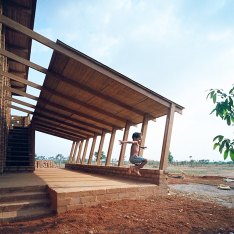 Sra Pou Vocational School by Rudanko + Kankkunen