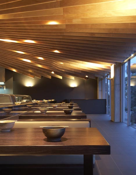 TREE Restaurant by Koichi Takada Architects