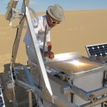 Dezeen Screen: The Solar Sinter by Markus Kayser