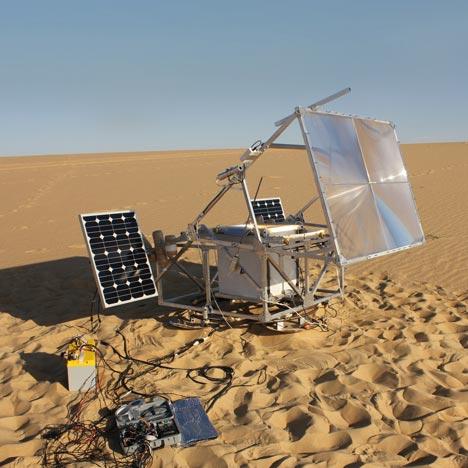 The Solar Sinter by Markus Kayser
