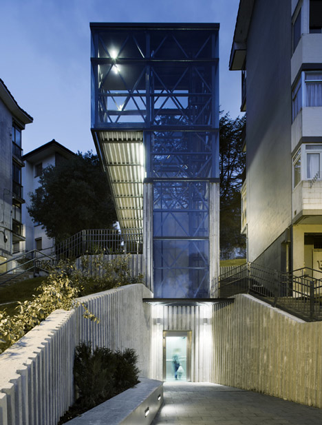 Urbanization and Urban Elevator by Vaumm