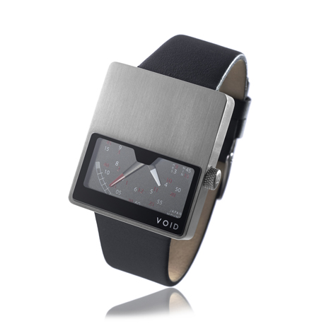 VOID V02 brushed stainless steel at Dezeen Watch Store