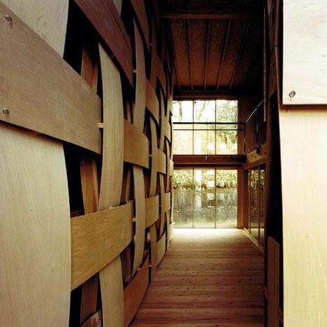 Wooden Block House by Tadashi Yoshimura Architects