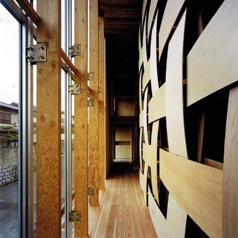 Wooden Block House by Tadashi Yoshimura Architects