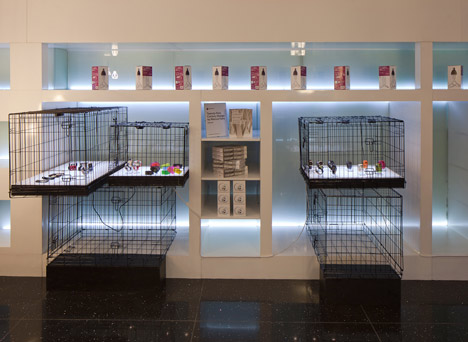 Dezeen Watch Store pop-up at 55 Neal Street