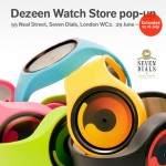 Dezeen Watch Store pop-up extended to 16 July