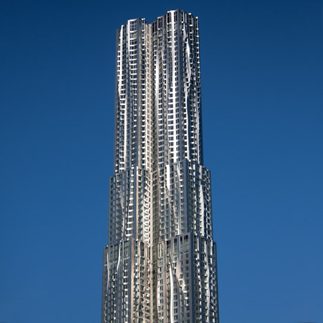 New York by Gehry at 8 Spruce Street