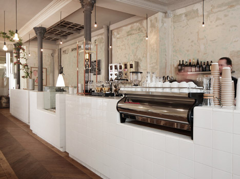 Cafe Coutume by Cut Architectures