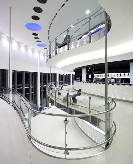 Convention Centre by Eva Jiricna Architects