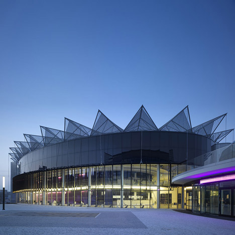 Convention Centre by Eva Jiricna Architects