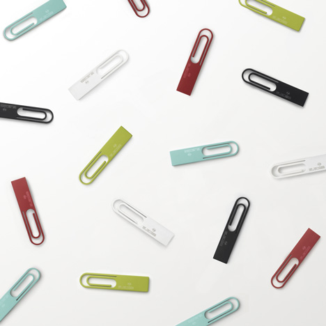 Data Clip by Nendo