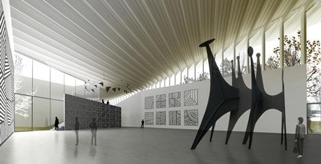 Extension of the Serlachius Museum Gösta by MX_SI