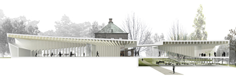 Extension of the Serlachius Museum Gösta by MX_SI