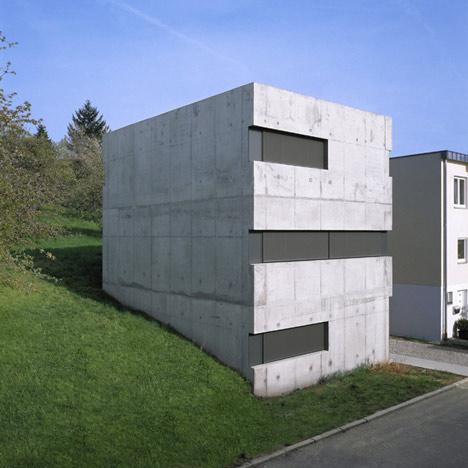 House KW by Käß Hauschildt Architects
