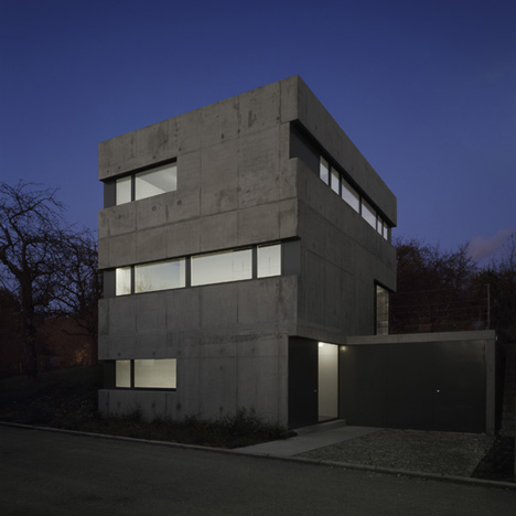 House KW by Käß Hauschildt Architects