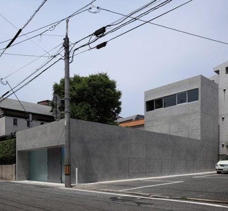 House in Ropponmatsu by Kazunori Fujimoto