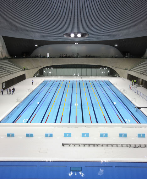 London 2012 Aquatics Centre by Zaha Hadid Architects