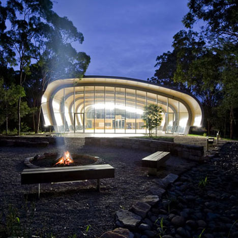Milson Island Sports Hall by Allen Jack+Cottier