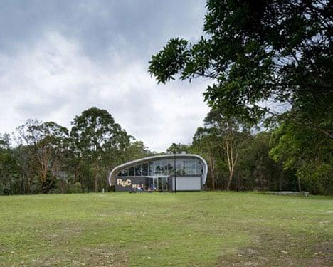 Milson Island Sports Hall by Allen Jack+Cottier