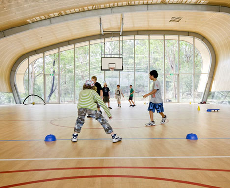 Milson Island Sports Hall by Allen Jack and Cottier