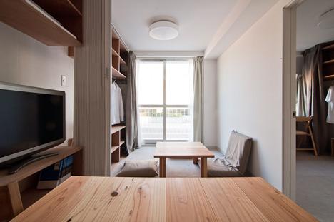 Multi-storey Temporary Housing by Shigeru Ban Architects
