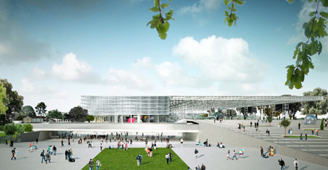 Parc des Expositions by OMA