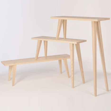 Prop-er Benches by Oscar Medley-Whitfield