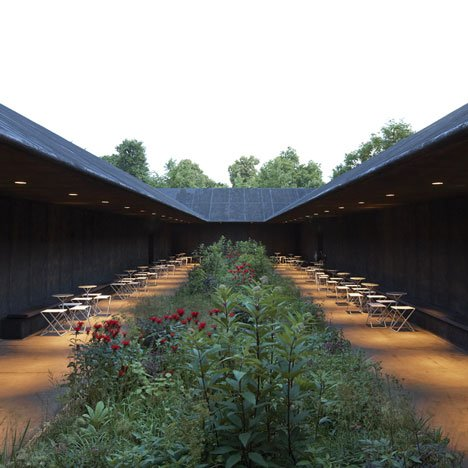Serpentine Gallery Pavilion 2011 by Peter Zumthor  photographed by Hufton + Crow