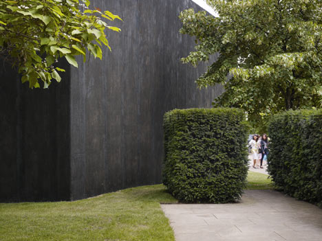 Serpentine Gallery Pavilion 2011 by Peter Zumthor photographed by Julien Lanoo