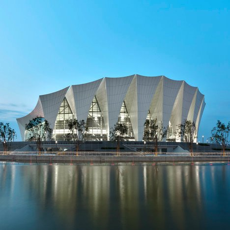 Amazing Shanghai Oriental Sports Centre By GMP Architekten Images