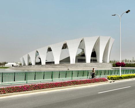 Shanghai Oriental Sports Centre by GMP Architekten