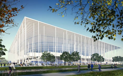 Stade Bordeaux Atlantique by Herzog & de Meuron